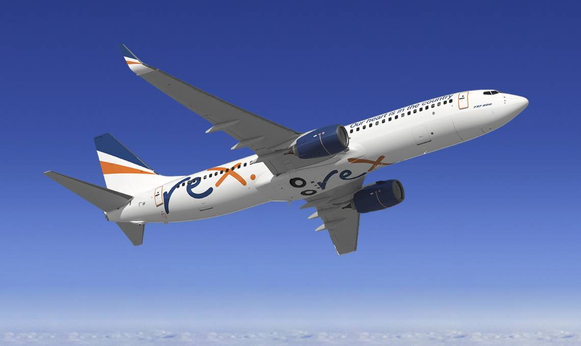 The first of Regional Express' Boeing 737 jets are now being prepped and pinted for flights to Melbourne in March.