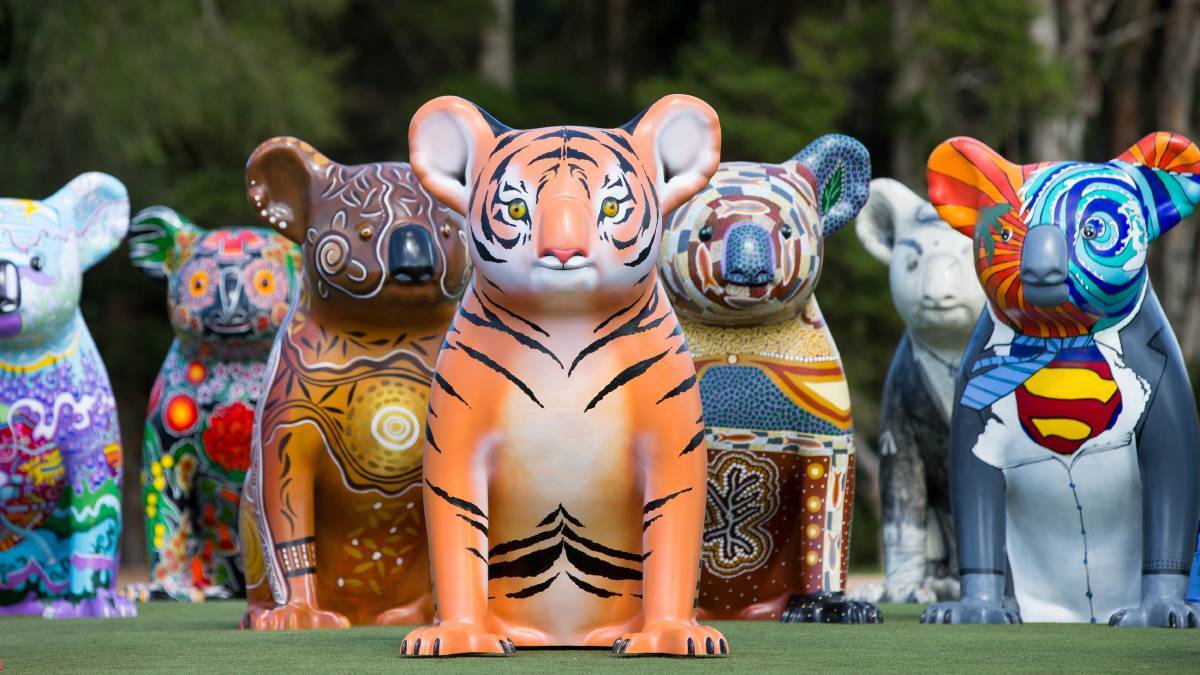 Metro time: The Hello Koalas Sculpture Trail will unveil a new exhibition at Sydney's Royal Botanic Gardens from October 3.