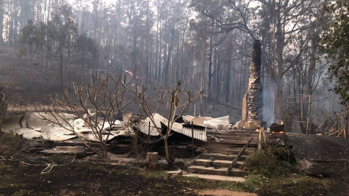 Help with clean-up cost of properties destroyed by bushfires