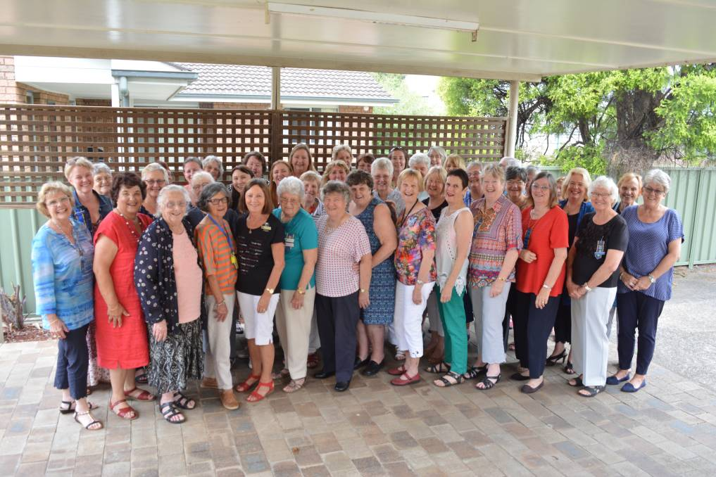 Mid North Coast CWA members have a bit of fun during recent council meeting held in Gloucester. Photo Anne Keen