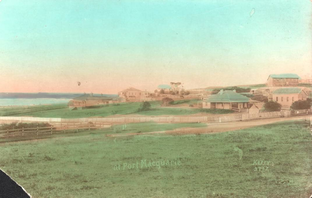 History: Overlooking Hastings River and Primary School, the site of the former Military barracks. Photo: supplied