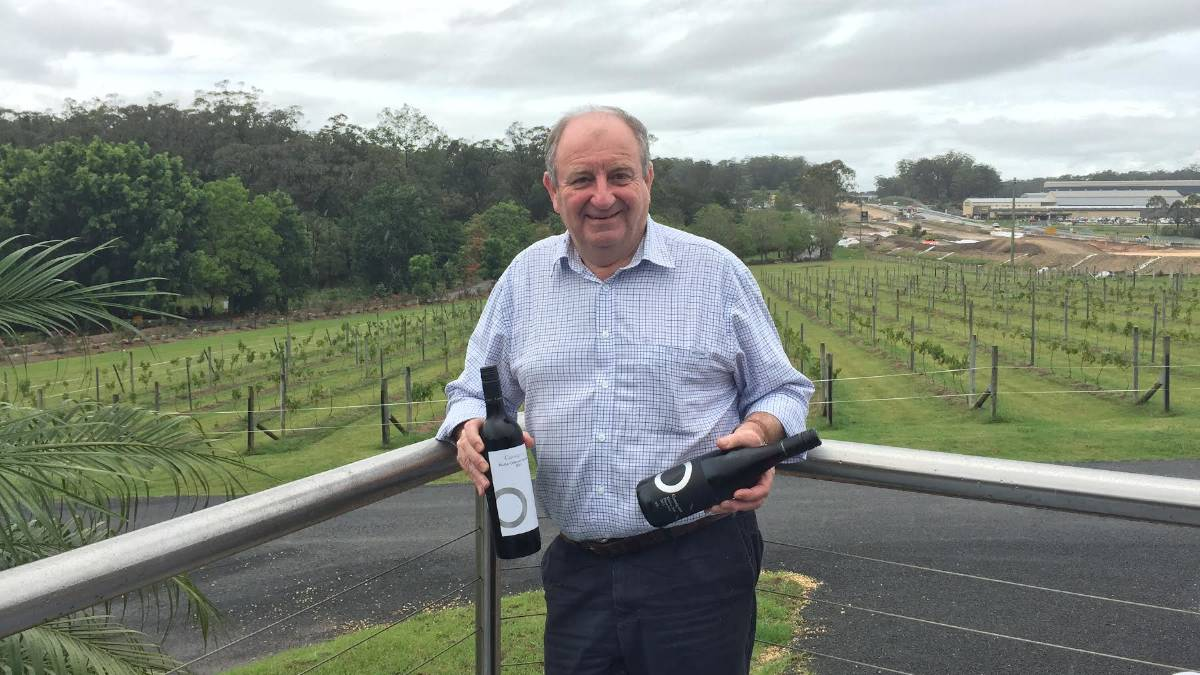 Winner: Cassegrain Wines owner John Cassegrain. The wine exporter was named the regional business of the year.