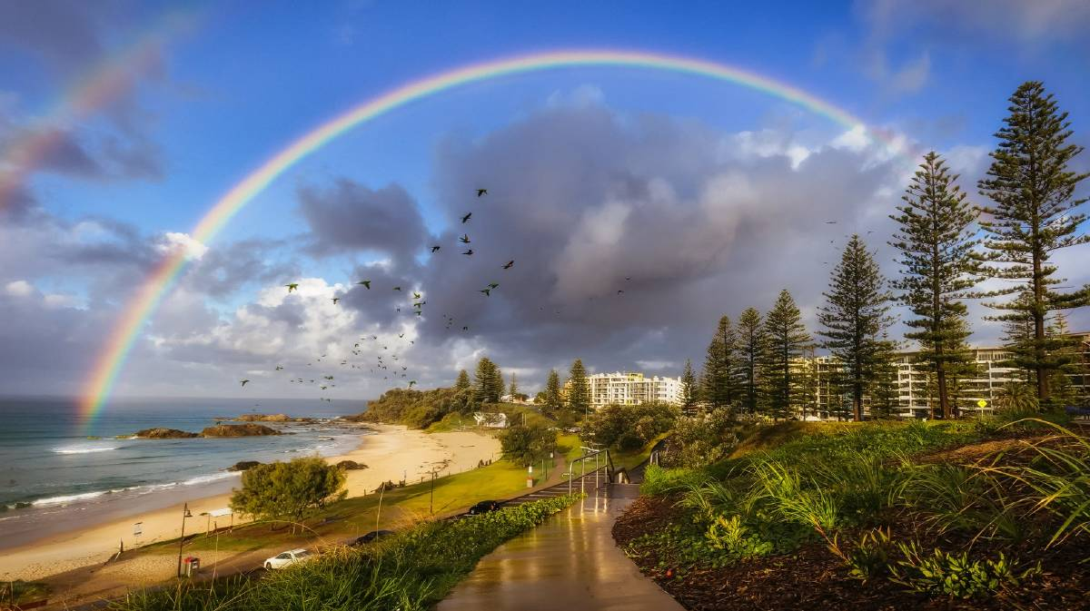 Town beach Port Macquarie. Photo: Ivan Sajko