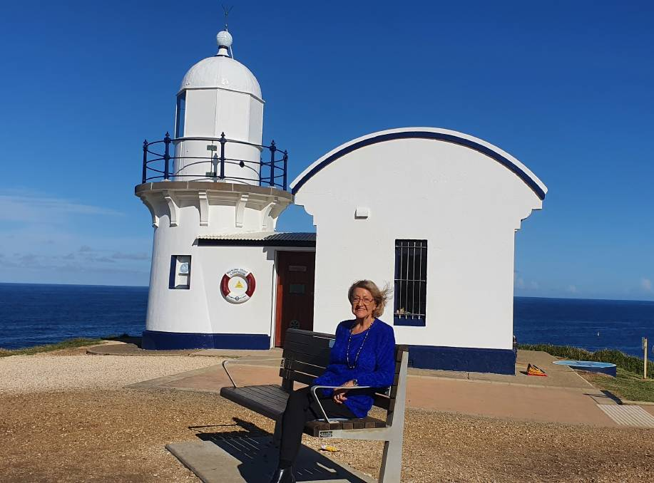 Supporting our veterans: Norma French feels honoured to coordinate the expansion of the Robe 2 Recovery initiative into Port Macquarie. Tacking Point Lighthouse, as a symbol of hope, will feature on the program's Port Macquarie logo.