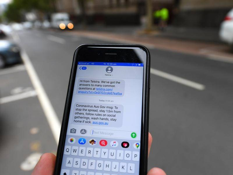 CSIRO scientists have found the coronavirus can survive on mobile phone screens for 28 days.